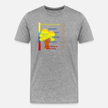 Spokes In Venezuela Spoke... - Men's Premium T-Shirt