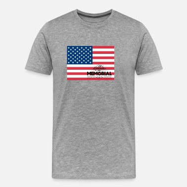 Veteran Memorial Day ~ Memorial Day: We remember on Memorial Day - Men's Premium T-Shirt