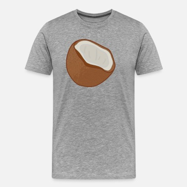 Coconut Beach coconut - Men's Premium T-Shirt