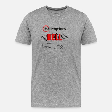 Bell Helicopter helicopter - Men's Premium T-Shirt