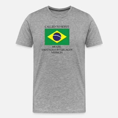 Sao Paulo Brazil Sao Paulo Interlagos LDS Mission Called - Men's Premium T-Shirt