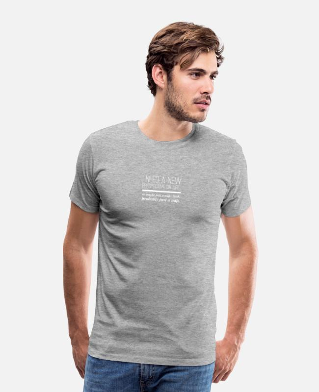 Inspiration T-Shirts - Perspective - Men's Premium T-Shirt heather gray