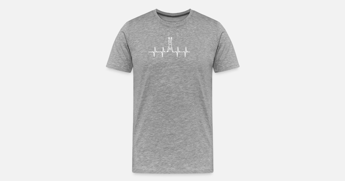 Handstand Shirt Designs : Handstand men s premium t shirt spreadshirt