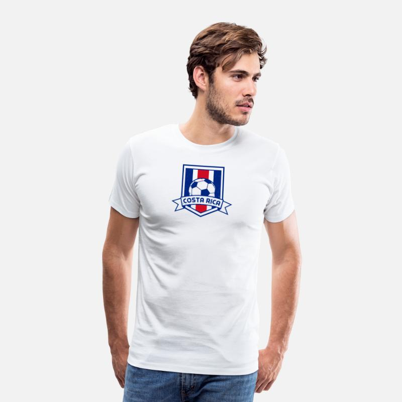 176cd38e4b4 Costa Rica No 1 Soccer Team Football Gift Men's Premium T-Shirt |  Spreadshirt