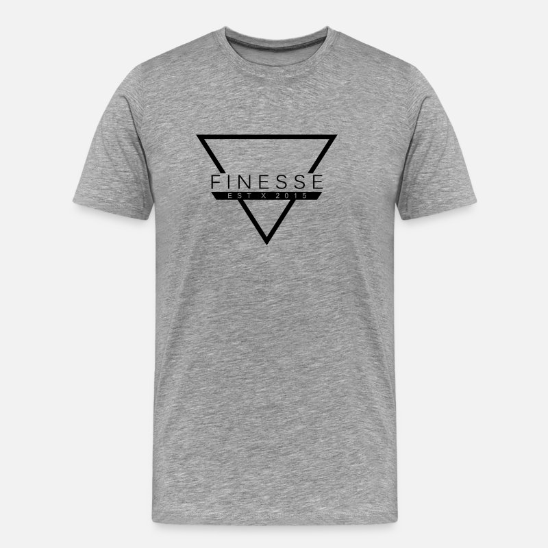 Ball T-Shirts - Finesse Clothing - Men's Premium T-Shirt heather gray
