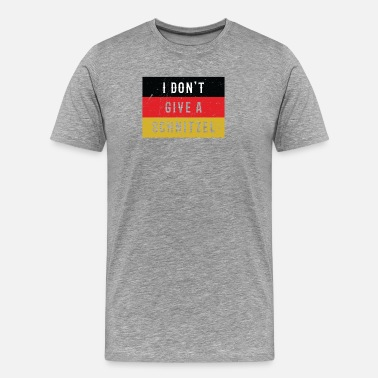 German Sayings Funny German Saying German Flag USA Gift Men Women - Men's Premium T-Shirt