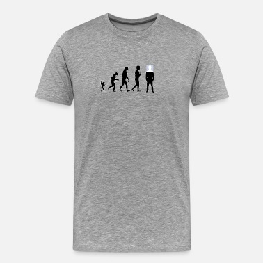 Anti Social Club Anti Social Evolution - Men's Premium T-Shirt