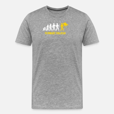 Cinematographer Funny Filmmaker Evolution - Men's Premium T-Shirt