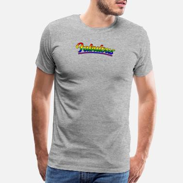 Gay Pride Parade Gay And Fabulous Pride Parade Support Equality - Men's Premium T-Shirt
