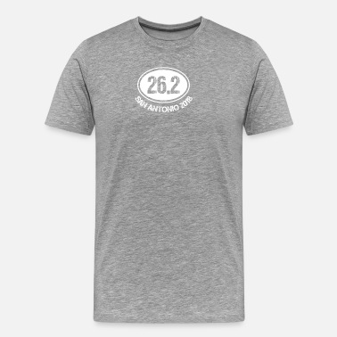 Sans 26.2 San Antonio 2018 - Men's Premium T-Shirt