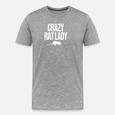 Crazy Rat Lady Crazy Rat Lady - Men's Premium T-Shirt