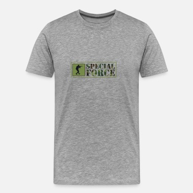 Us Army Special Forces special forces us army camouflage military gift - Men's Premium T-Shirt