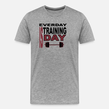 Dead Body EVERY DAY IS TRAINING DAY - Men's Premium T-Shirt