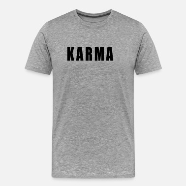 Ying Karma Yoga Happiness Sport Quote Gift - Men's Premium T-Shirt