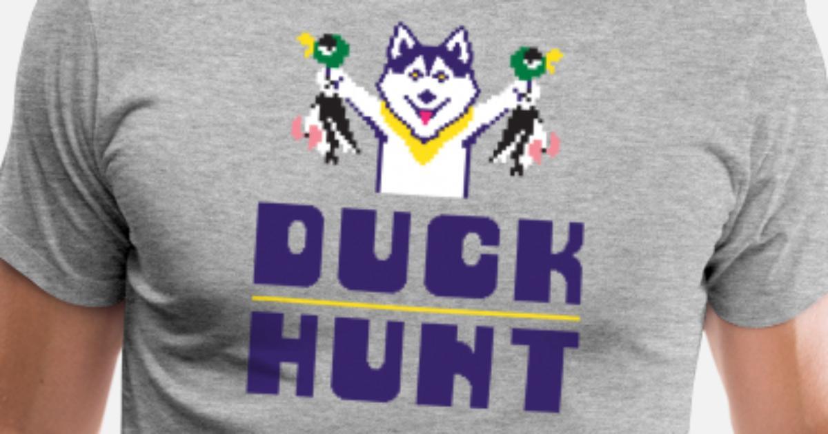 Duck Hunt Washington Huskies Men S Premium T Shirt