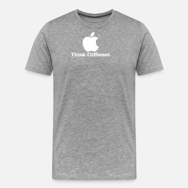 Apple Logo Apple Think Different T Shirt Logo Men s Steve Job - Men's Premium T-Shirt