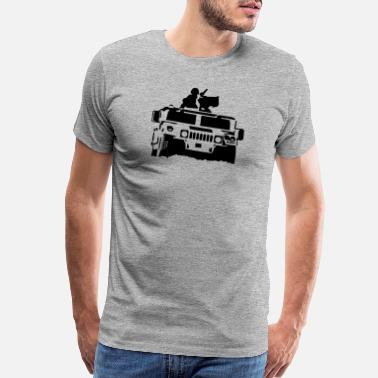 Army hummer army - Men's Premium T-Shirt