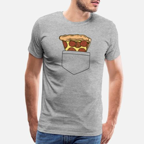fb5666b973 pizza pocket Men s Premium T-Shirt