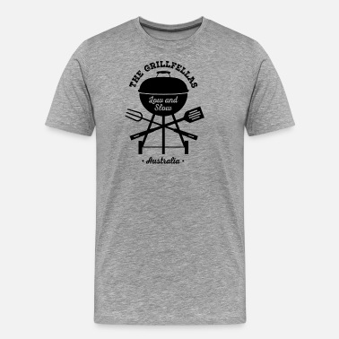 Weber The GrillFellas BBQ - Men's Premium T-Shirt
