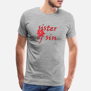 Fallen Angel Sister Of Sin - Men's Premium T-Shirt