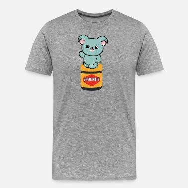 Vegemite Kid Vegemite Koala - Men's Premium T-Shirt