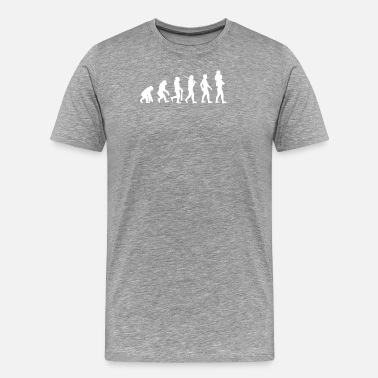 Father Son Evolution Of Father Son - Men's Premium T-Shirt