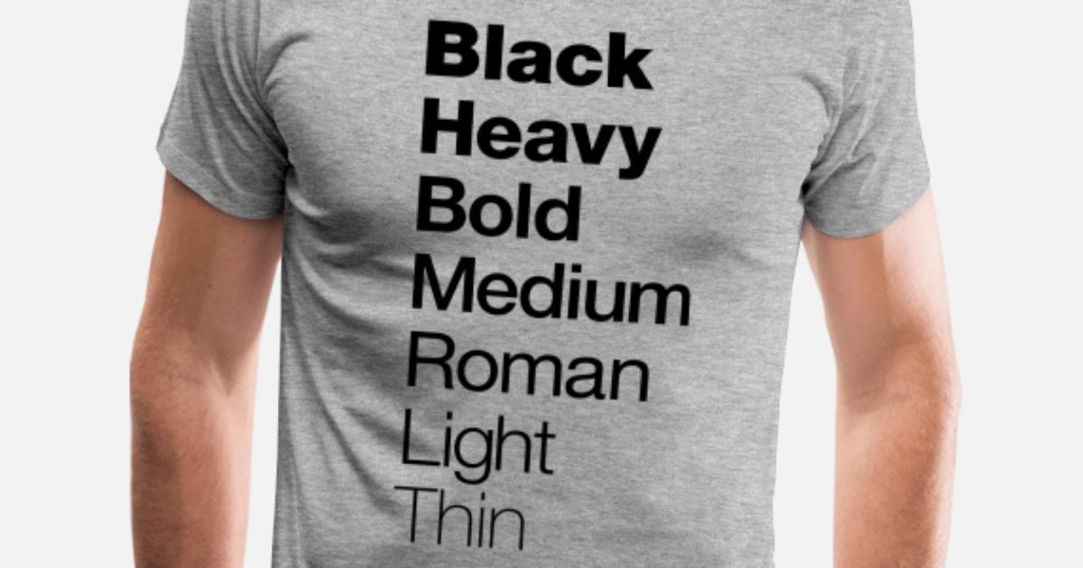 a2ab2b786 Graphic Design T-shirt Helvetica Men's Premium T-Shirt   Spreadshirt