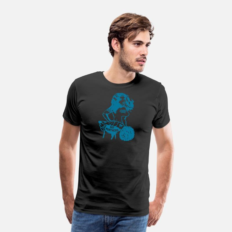 Vintage Carolina Panthers T Shirt Carolina Panther Men s Premium T-Shirt  95f152b02