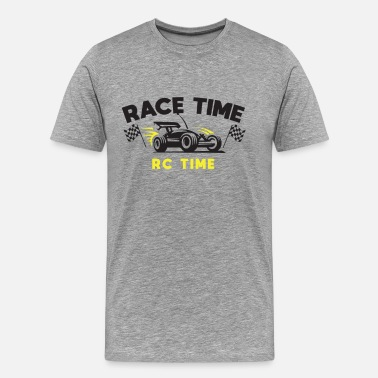 Three Pedals RC Time Race Time Racers Car Sport Track Monster - Men's Premium T-Shirt