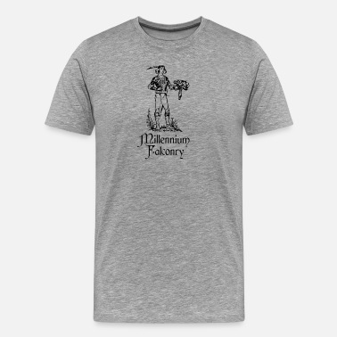 Rocketry Millennium Falconry - Men's Premium T-Shirt