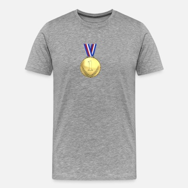 First Place medal first place - Men's Premium T-Shirt