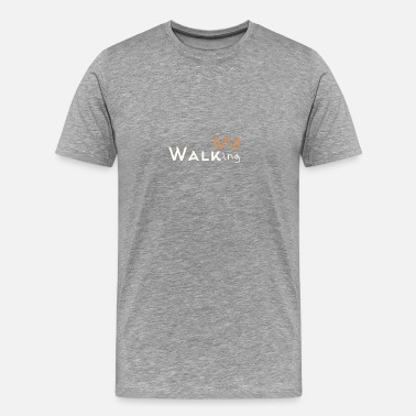 Walking walking - Men's Premium T-Shirt