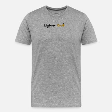 Lighting Technician Lights On - Men's Premium T-Shirt
