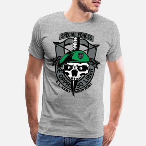 72662dfa61a9c Army Green Beret Special Forces Men s Premium T-Shirt