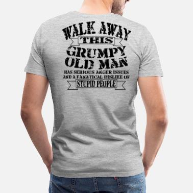 Man Grumpy Old Man - Men's Premium T-Shirt