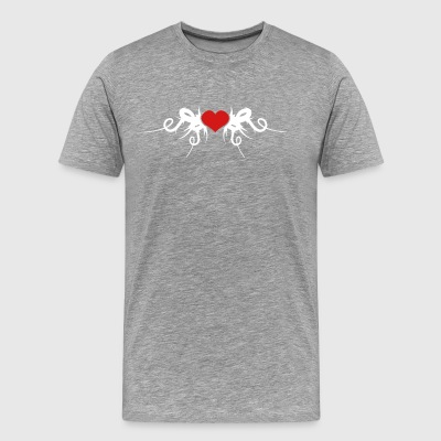Fragile Heart Covered In Sharp Thorns - Men's Premium T-Shirt