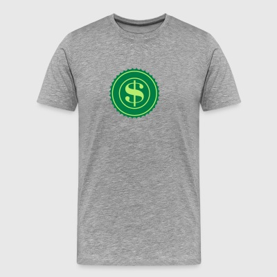 US Dollar Logo - Men's Premium T-Shirt