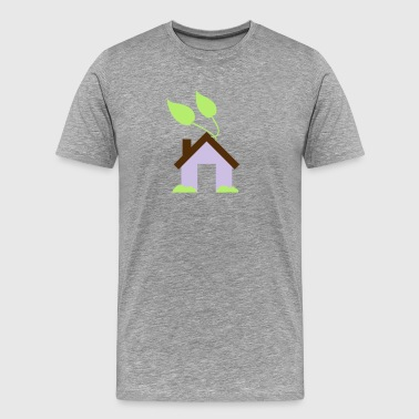 Green House Icon - Men's Premium T-Shirt