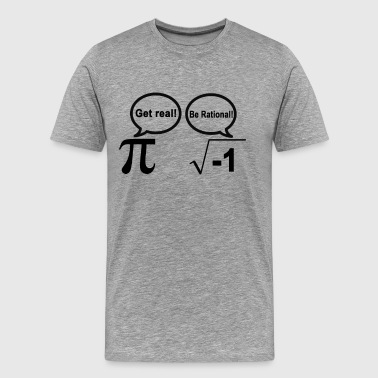 pi_and_i_get_real_be_rational - Men's Premium T-Shirt