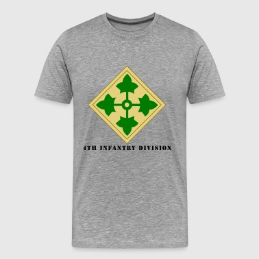 US Army 4th Infantry Division - Men's Premium T-Shirt
