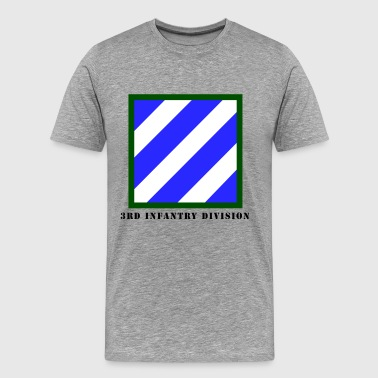 US Army 3rd Infantry Division - Men's Premium T-Shirt