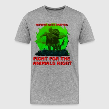 Hunter Gets Hunted - Men's Premium T-Shirt