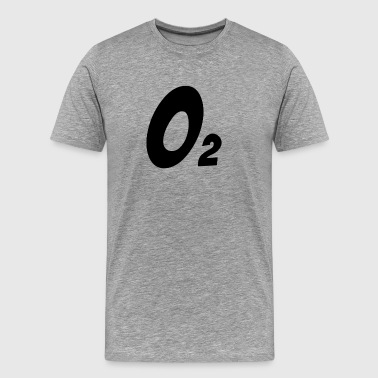 OXYGEN O2 CHEMICAL ELEMENT - Men's Premium T-Shirt