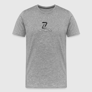 Negative - Zilla Supply Co. with Branding - Men's Premium T-Shirt