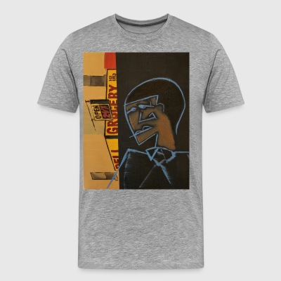 Leonard does Harlem - Men's Premium T-Shirt