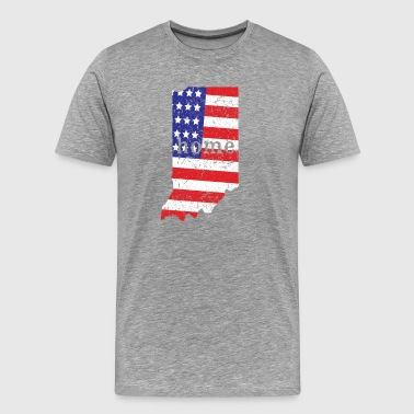 Indiana Home - Men's Premium T-Shirt