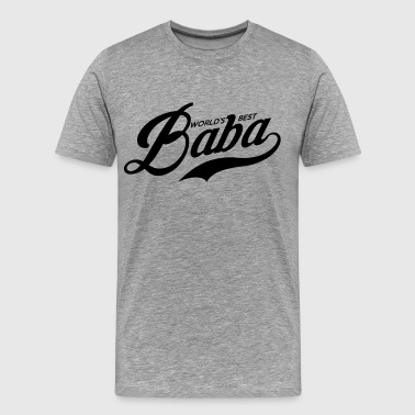 World's Best Baba - Men's Premium T-Shirt