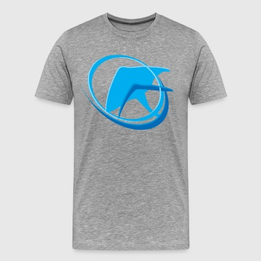 Stingray fish art - Men's Premium T-Shirt