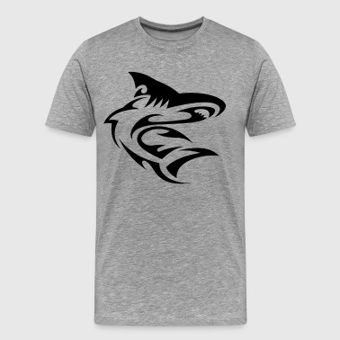 Fish tattoo art - Men's Premium T-Shirt