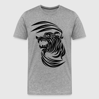 Classic animal tattoo pattern - Men's Premium T-Shirt